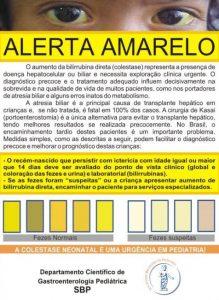 alerta amarelo